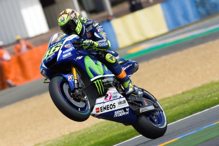 Valentino Rossi, Movistar Yamaha MotoGP, Le Mans FP2