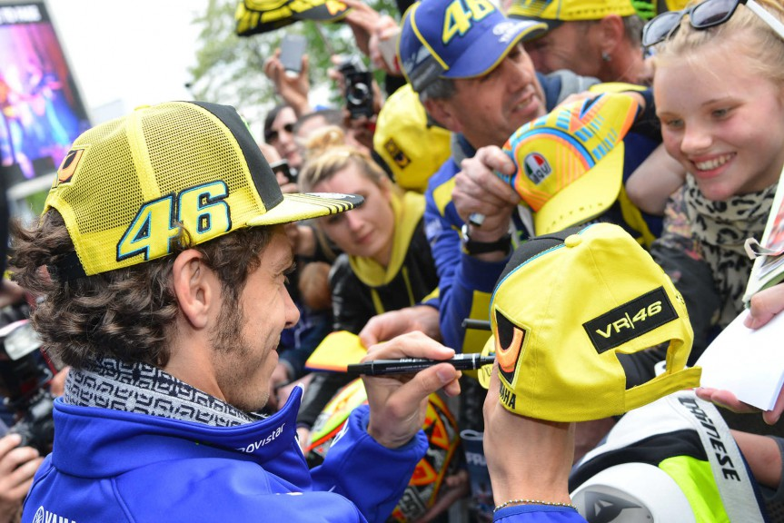 Riders and public interviews, Le Mans