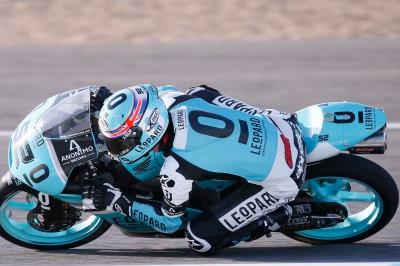 Kent tops timesheets in Moto3™ FP1