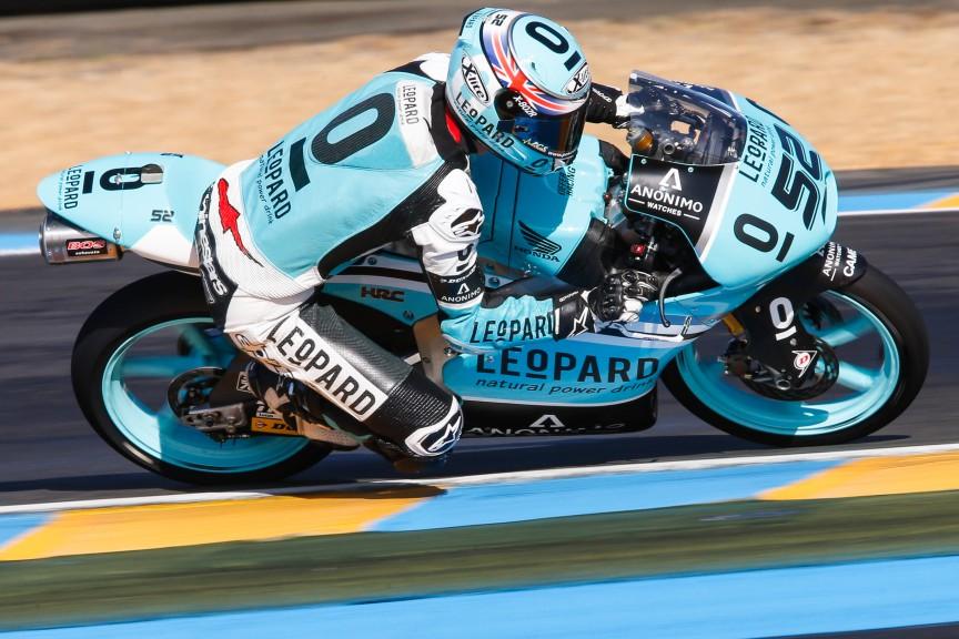Danny Kent, Leopar Racing, Le Mans FP1