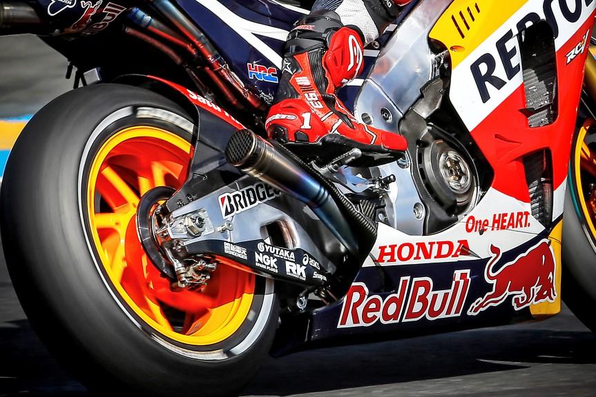 Marc Marquez, Repsol Honda Team, Le Mans FP2