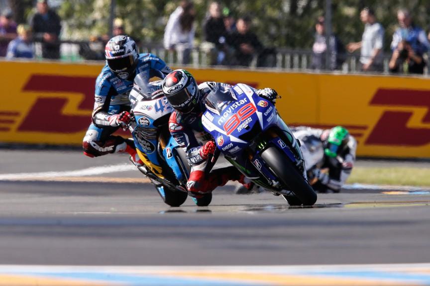 Jorge Lorenzo, Movistar Yamaha MotoGP, Le Mans FP1