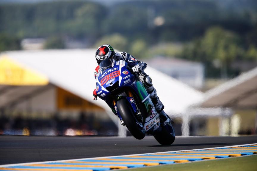 Jorge Lorenzo, Movistar Yamaha MotoGP, Le Mans FP2