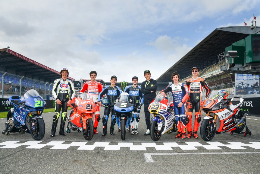 VR46 Riders Academy in Le Mans