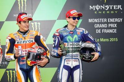 Marquez takes pole, Lorenzo bides his time…