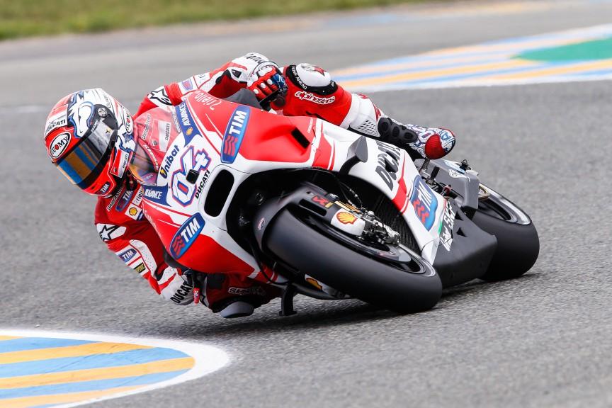 Andrea Dovizioso, Ducati Team, Le Mans FP3