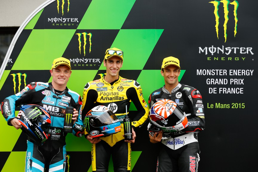 Lowes, Rins, Zarco, Speed Up Racing, Paginas Amarillas HP 40, Ajo Motorsport, Le Mans QP