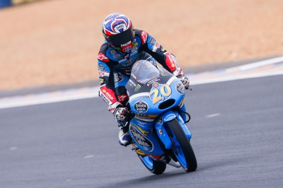 Quartararo secures pole for Le Mans Moto3™