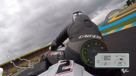 Experience a lap of the Le Mans Bugatti Grand Prix circuit with motogp.com's Dylan Gray.