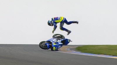 Free video: Espargaro's spectacular FP3 crash