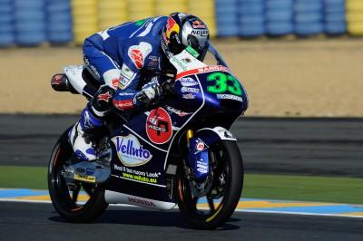 Bastianini, el más rápido de la FP3 de Moto3™