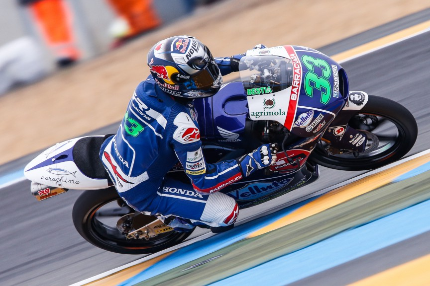 Enea Bastianini, Junior Team Gresini Moto3, Le Mans FP3