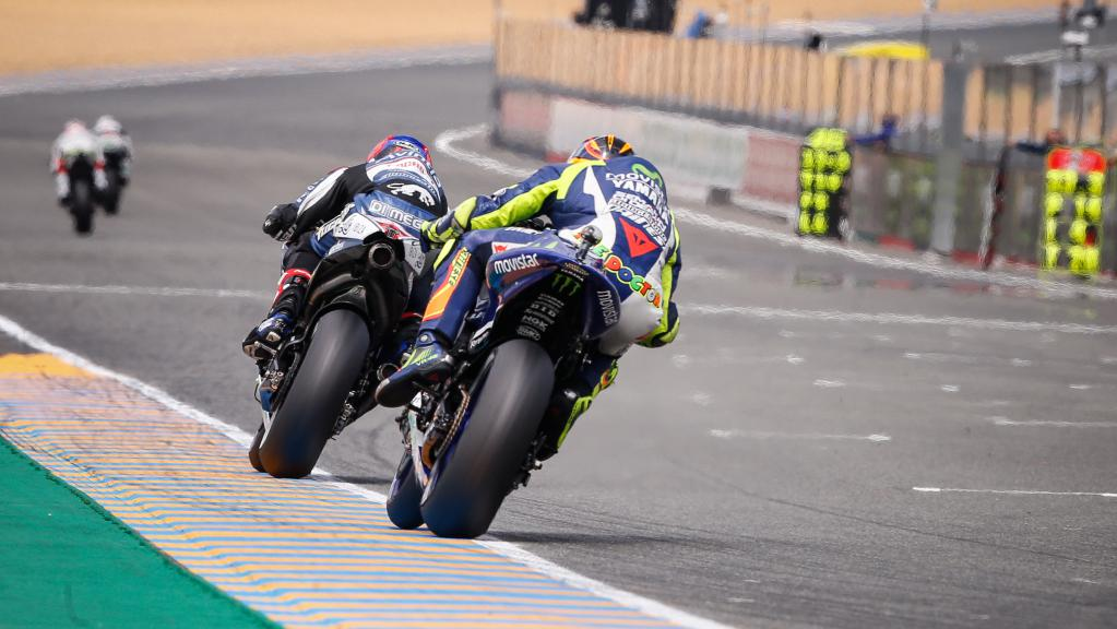 Action MotoGP Le Mans