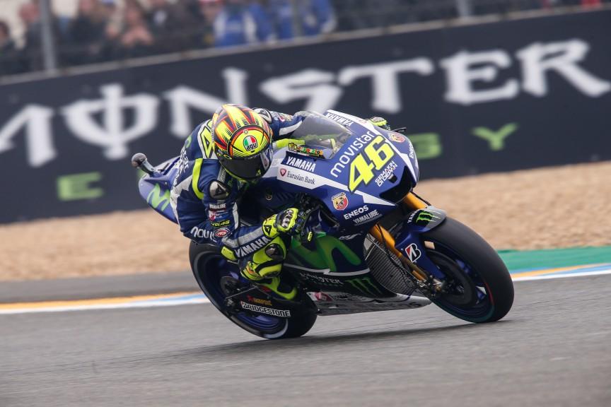 Valentino Rossi, Movistar Yamaha MotoGP, Le Mans Q2