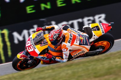 Márquez survole les qualifications en France