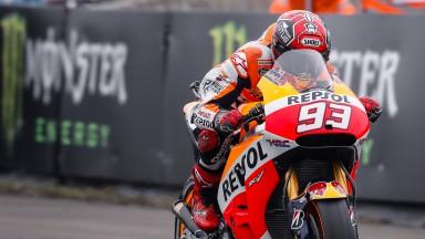 Márquez: 'Mañana nos espera una carrera muy dura'