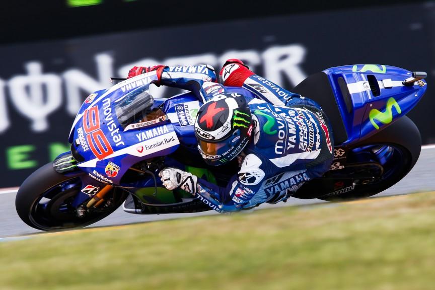 Jorge Lorenzo, Movistar Yamaha MotoGP, Le Mans FP3