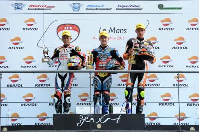 Canet logra su primer triunfo en el FIM CEV Repsol