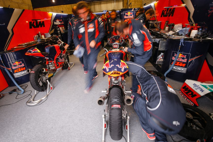 Red Bull KTM Ajo garage, Le Mans QP