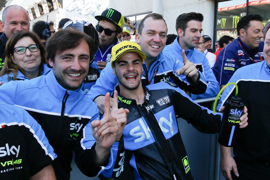 Romano Fenati, SKY Racing Team VR46, Le Mans RACE