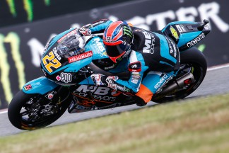 Lowes starts fast in Moto2™ warm up