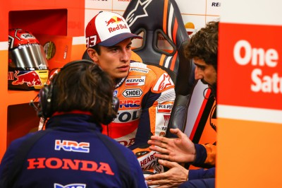Marquez: 'I had a lot of problems with the front end'