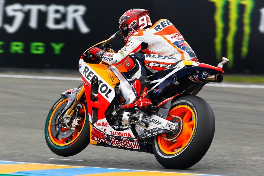 Marc Marquez, Repsol Honda Team, Le Mans WUP