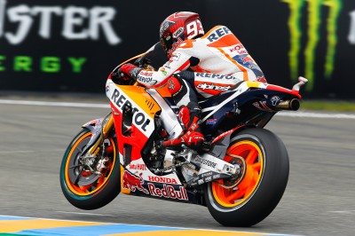Marquez sets hottest lap in MotoGP™ warm up