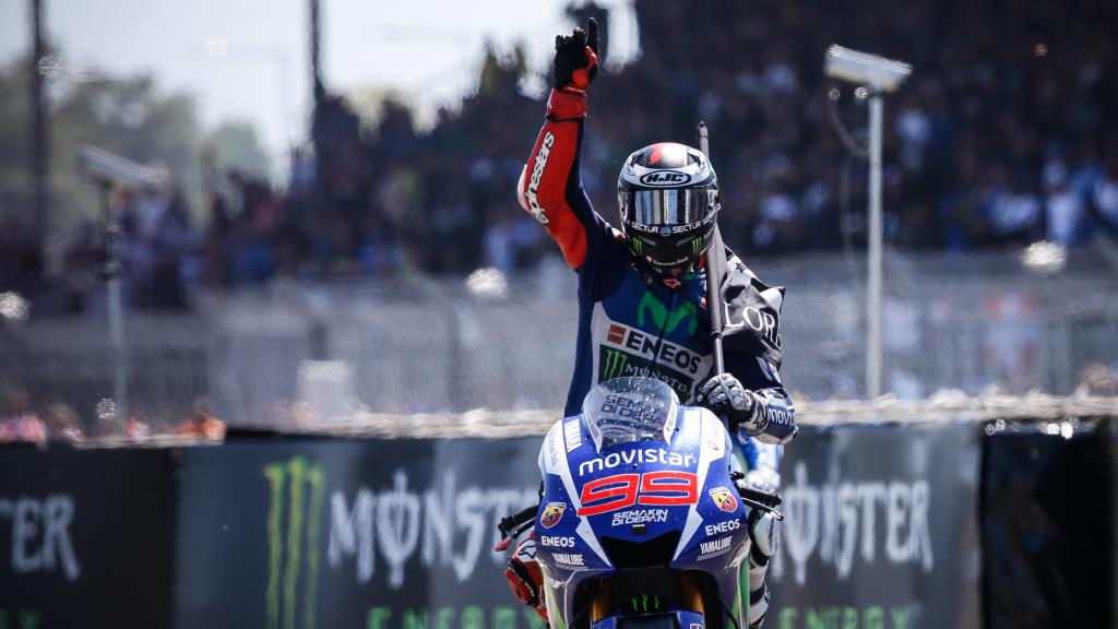 Jorge Lorenzo, Movistar Yamaha MotoGP, Le Mans RACE