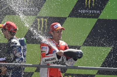 ドビツィオーソが今季4度目の表彰台を獲得