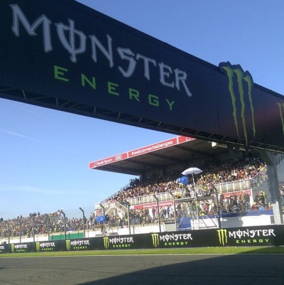 It's race day at the @MonsterEnergy #FrenchGP! The sun is