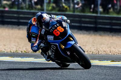 Florian Alt erreicht in Le Mans das / sein Ziel