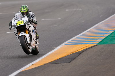 Crutchlow: 'My foot slipped & I grabbed the front brake'