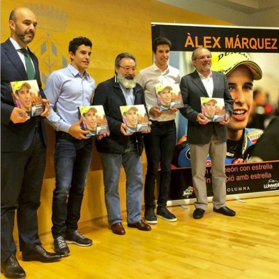At the presentation of Alex's book!! Looking forward to reading