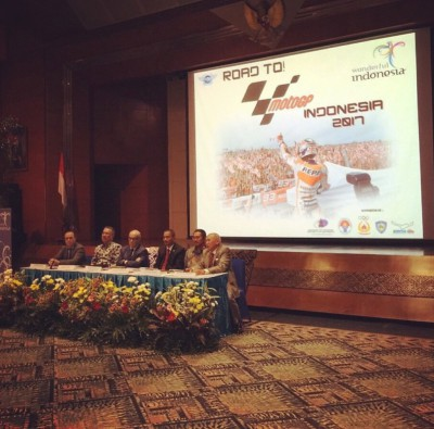 MotoGP, the Indonesian Government and the Sentul Circuit held talks