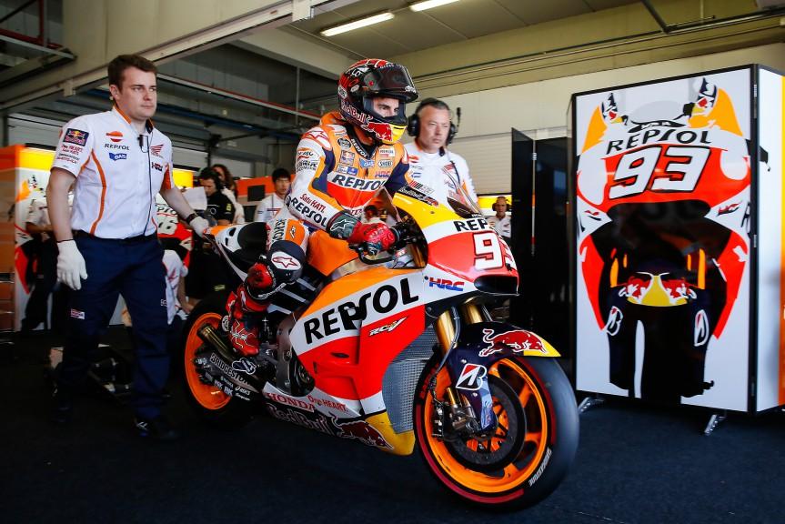 Marc Marquez, Repsol Honda Team – Photo: Box Repsol