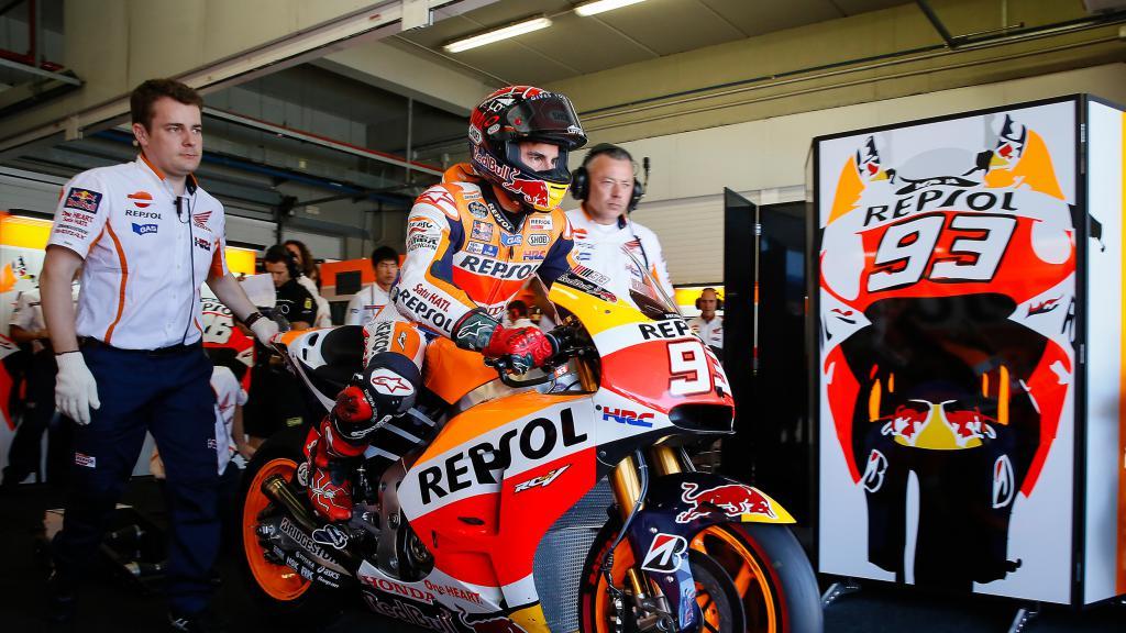 Marc Marquez, Repsol Honda Team – Photo: Box Repsol