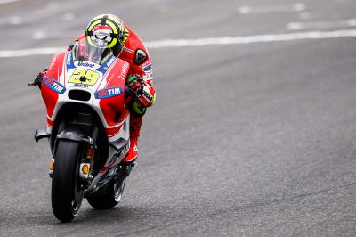 "Iannone: ""They found a fracture at the tip of my funny bone"""