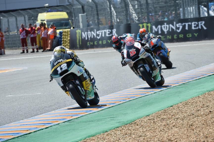 Moto2 Action Le Mans