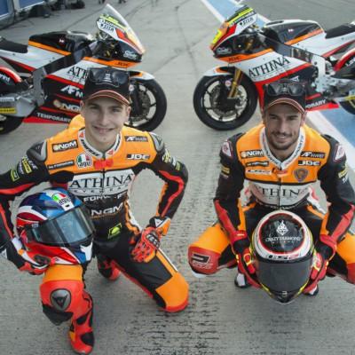 Il Mugello dà il benvenuto al team Athinà Forward Racing