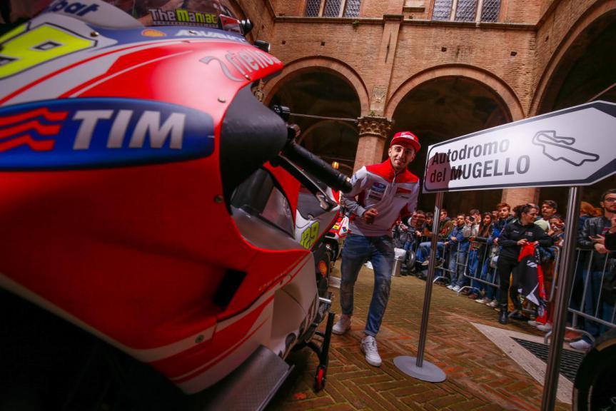 Ducati pre-event