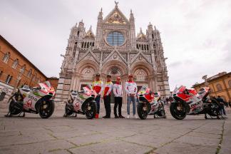 """Un Palio """"straordinario"""" con le Ducati Desmosedici"""