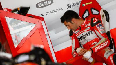 テストライダーのピロが今季初参戦