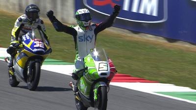 Mugello 2014: The closest GP podium finish of all time