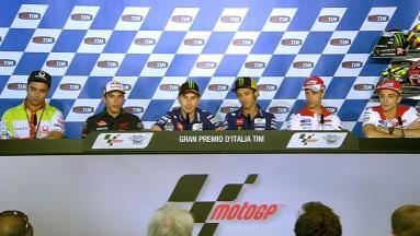 La conferencia de prensa inicia el #ItalianGP
