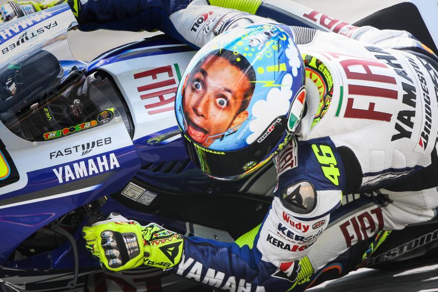 Valentino Rossi, 2008 Mugello Race