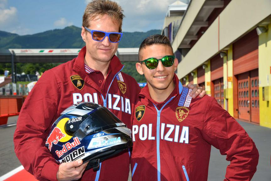 Enea Bastianini new enter in the group of polizia team
