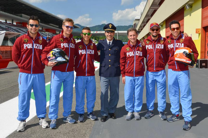 Pollizia team at MotoGP
