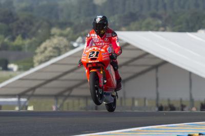 Bagnaia: 'Nuestra moto puede ir muy bien en Mugello'
