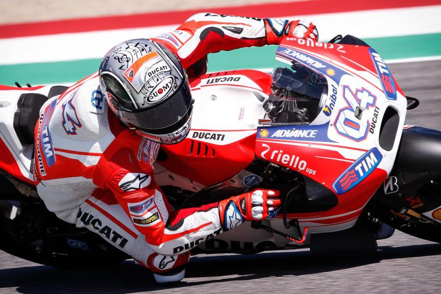 Andrea Dovizioso, Ducati Team, Mugello FP1